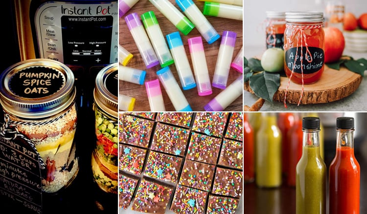 Instant Pot Homemade Gift Ideas