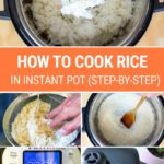 How To Cook Rice In The Instant Pot (Step-By-Step-Recipe)