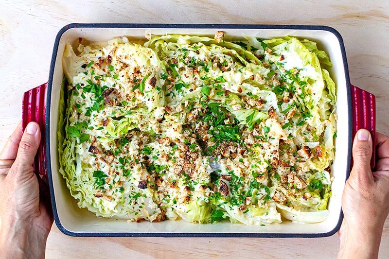Instant Pot Creamy Cabbage Recipe