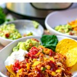 Instant Pot Mexican Nachos Beef & Rice Casserole