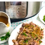 Instant Pot Pork Shoulder With Gravy (Step-By-Step)