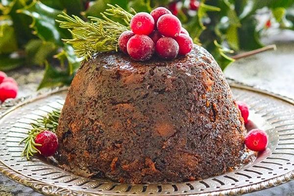 The Ultimate Vegan Christmas Pudding