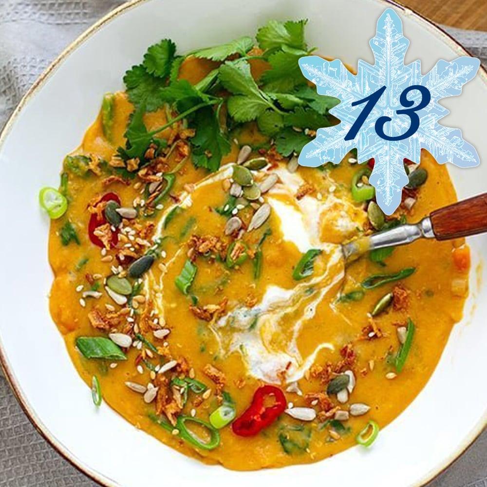 Instant Pot Thai Red Lentil Soup