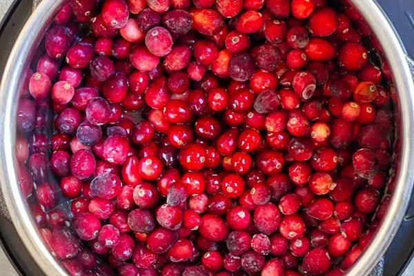Instant Pot Cranberries