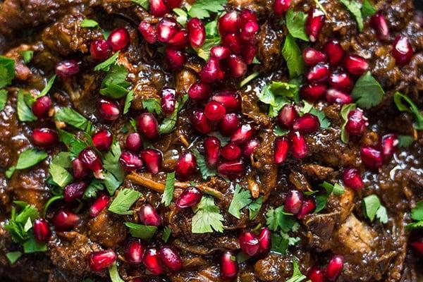 Instant Pot Fesenjan (Persian Pomegranate Chicken)