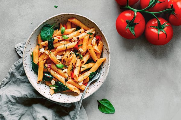 Vegan Veggie-Packed Pasta