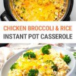 Instant Pot Chicken Broccoli & Rice Casserole (Step-By-Step Recipe)