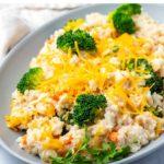 Chicken Rice & Broccoli Casserole In The Instant Pot
