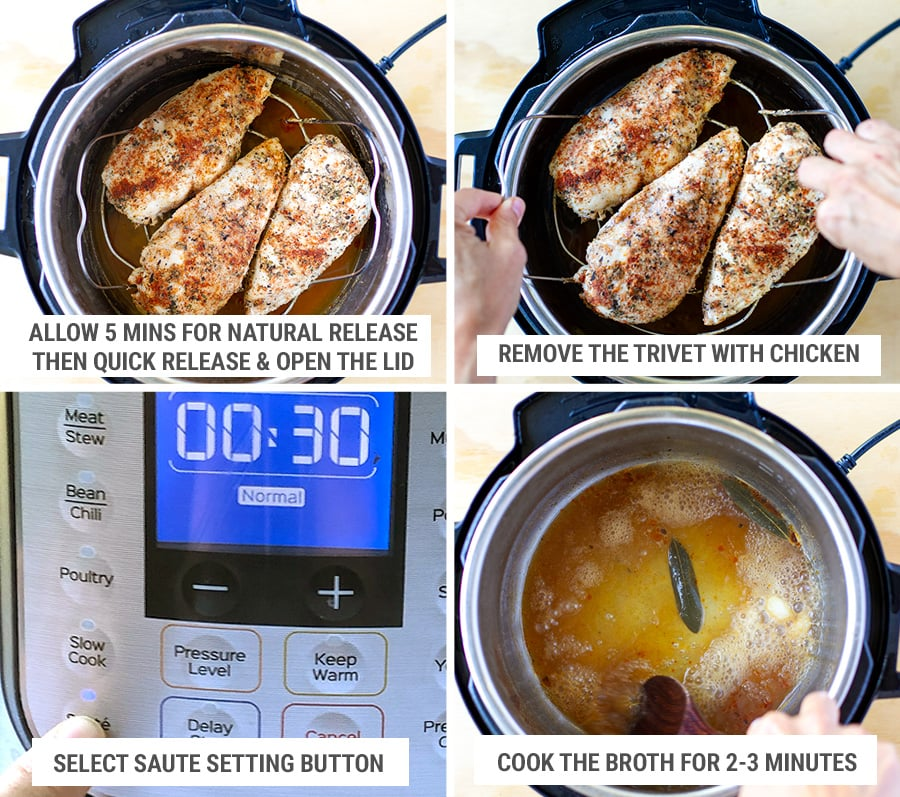 How to cook chicken breasts in the Instant Pot