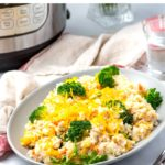 Instant Pot Casserole With Chicken Broccoli & Rice