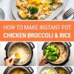 How To Make Instant Pot Chicken Broccoli & Rice (Beginner Recipe)