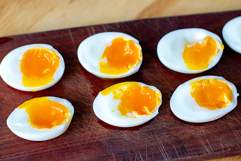 Instant Pot medium-soft-boiled eggs