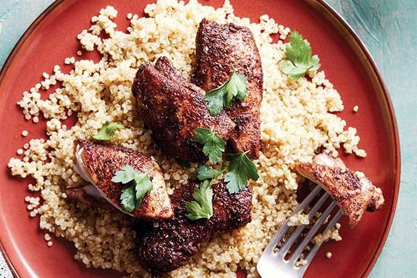 Instant Pot Jerk Chicken & Quinoa