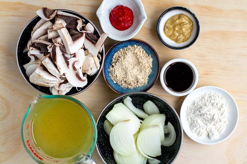 Salisbury mushroom gravy ingredients