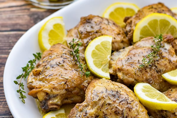 INSTANT POT LEMON CHICKEN