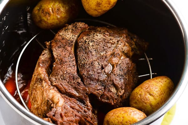 Instant Pot Pot Roast (with air fryer lid)