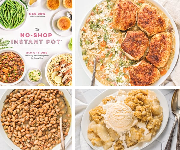 Review: The No-Shop Instant Pot Cookbook by Meg Dow