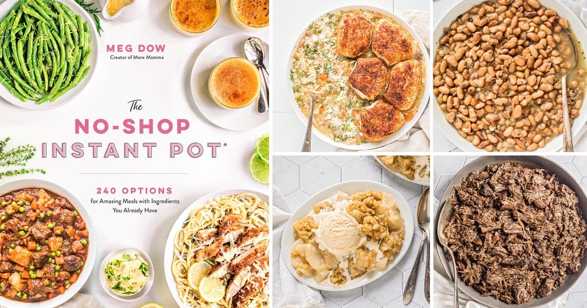 Review: The No-Shop Instant Pot Cookbook by Meg Dow
