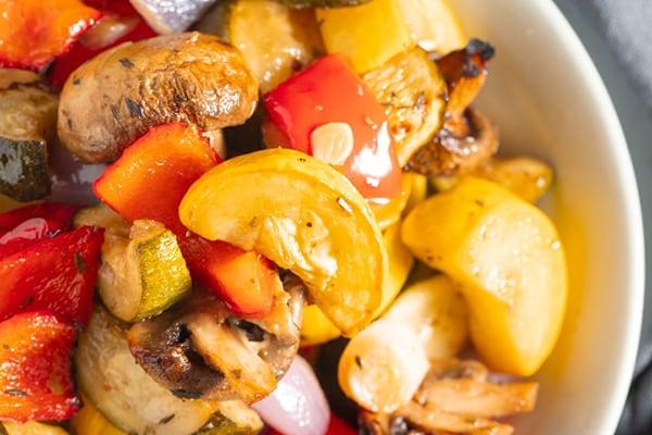 Marinated Air Fryer Vegetables