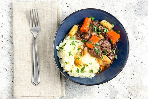 Low FODMAP Instant Pot Beef Stew