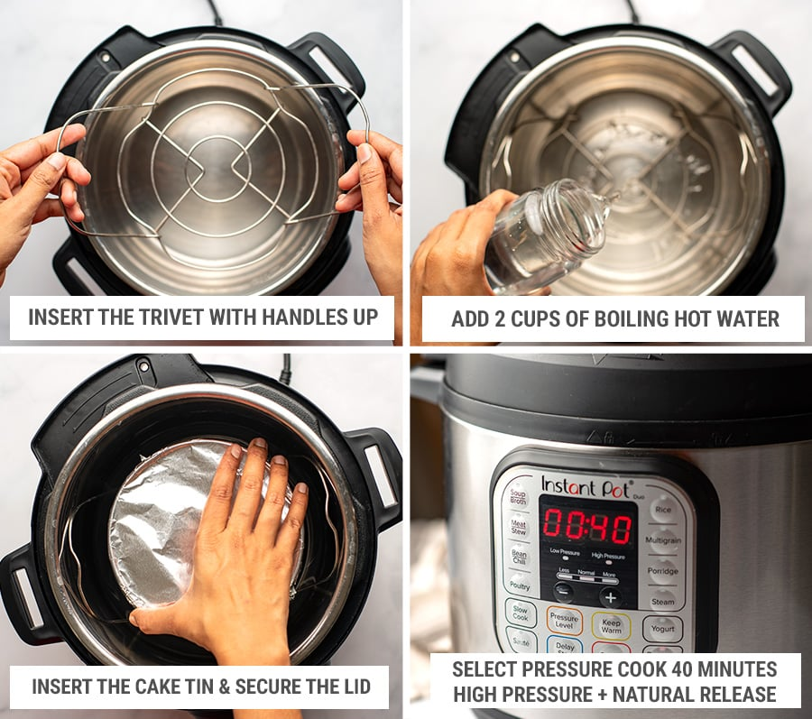 How to make cheesecake in the Instant Pot - settings