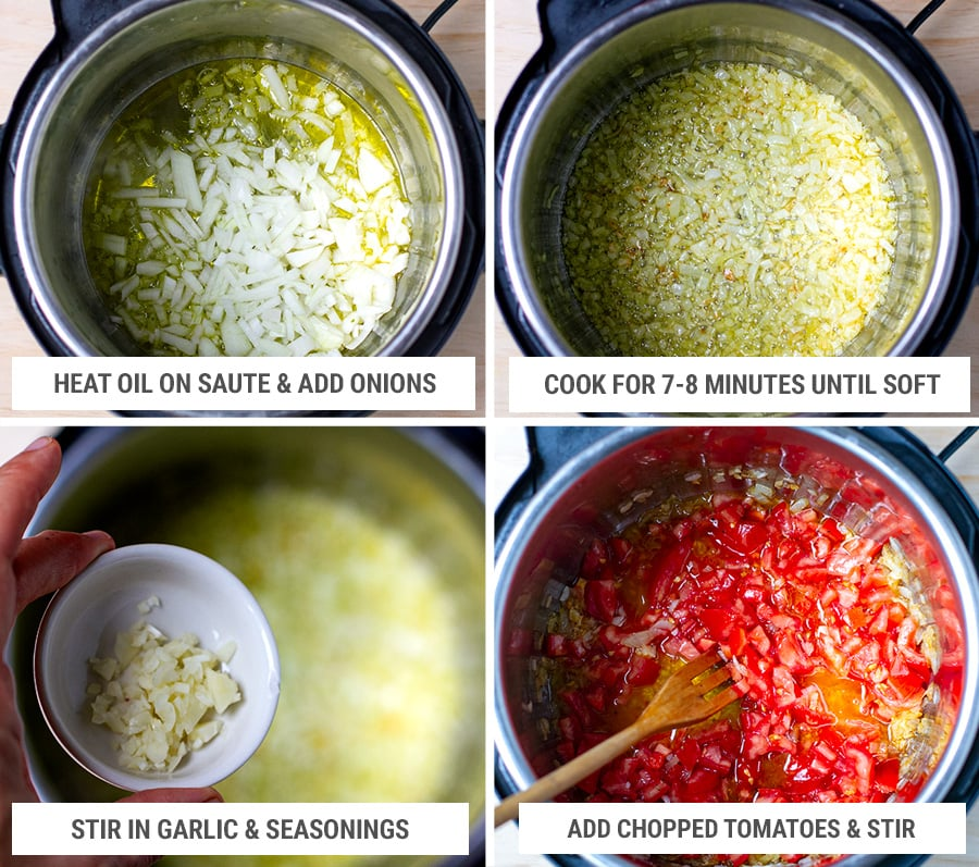 How to make Turkish green beans in the Instant Pot
