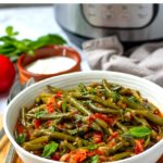 Turkish Green Beans In The Instant Pot