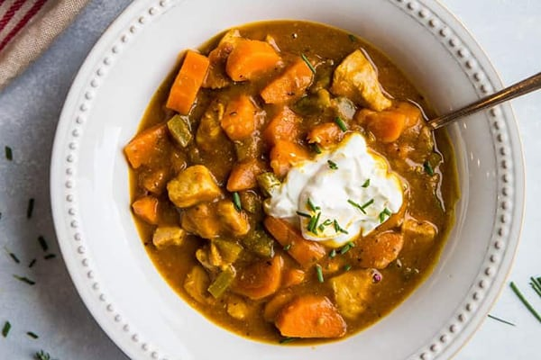 PUMPKIN CHICKEN CHILI