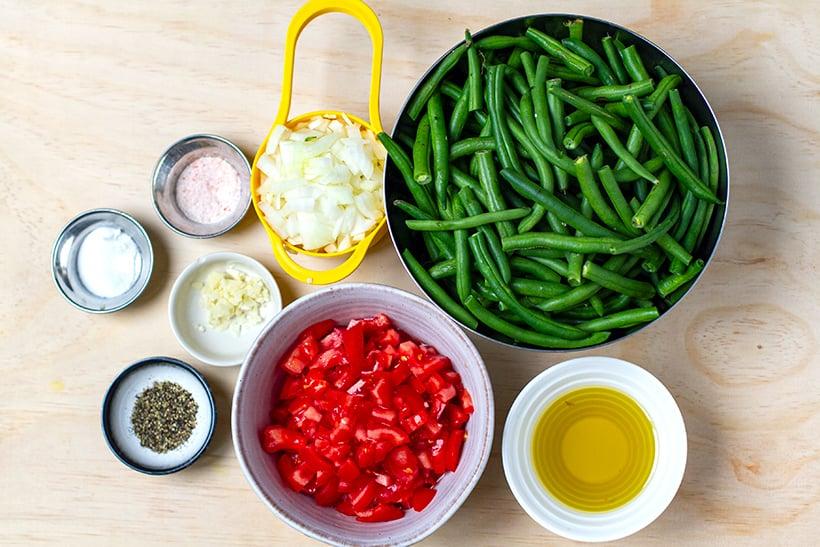 Turkish Green Beans Ingredients