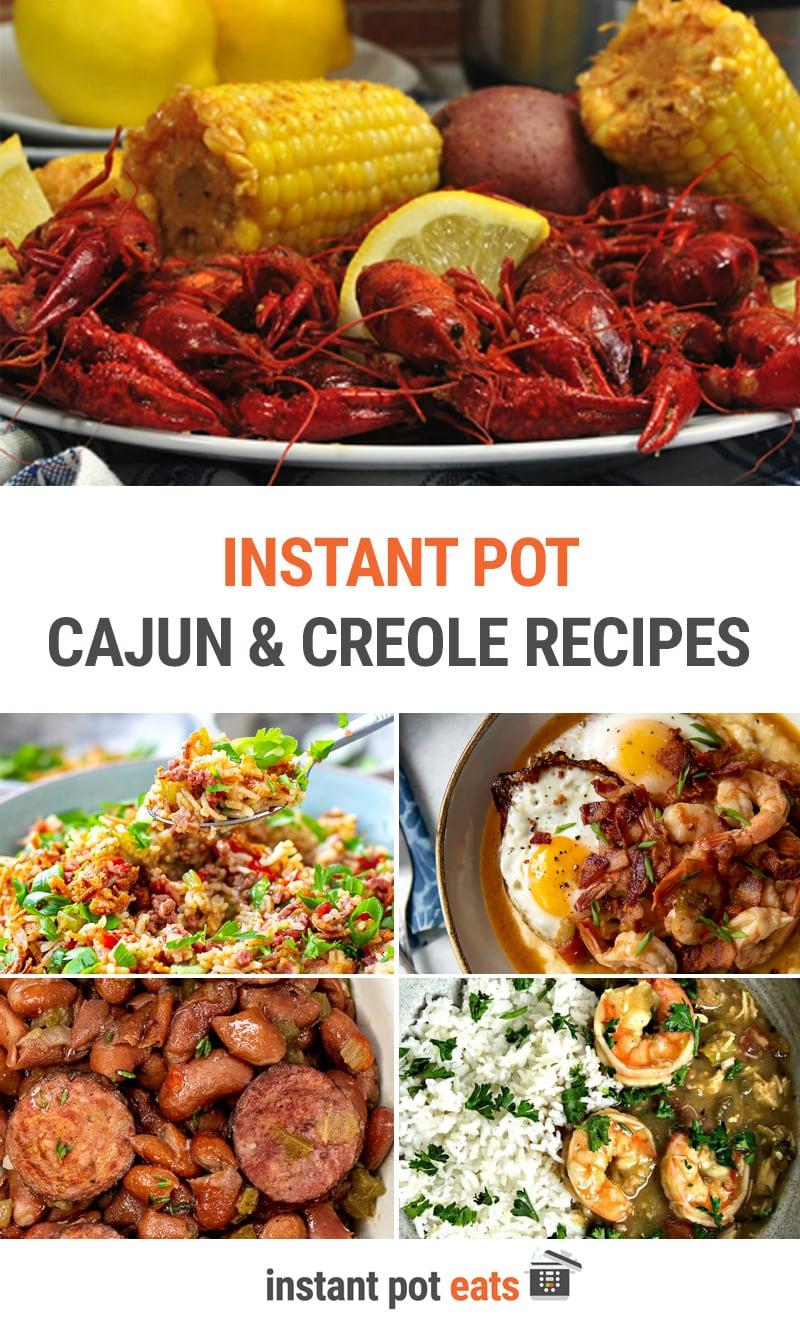 Instant Pot Cajun and Creole Recipes