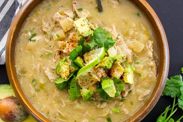 Instant Pot Green Chile Chicken Chowder
