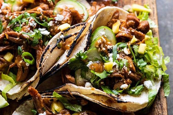 instant pot korean bulgogi bbq tacos
