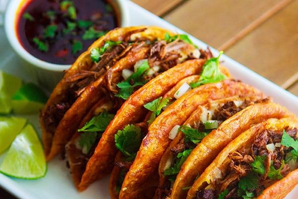 Instant Pot Birria Tacos with Consomé
