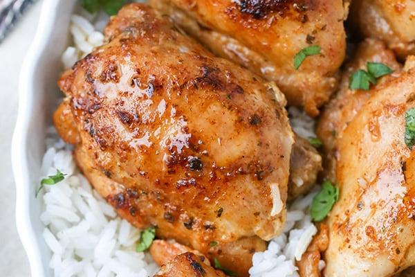 Instant Pot Chicken Thighs (Fresh or Frozen)