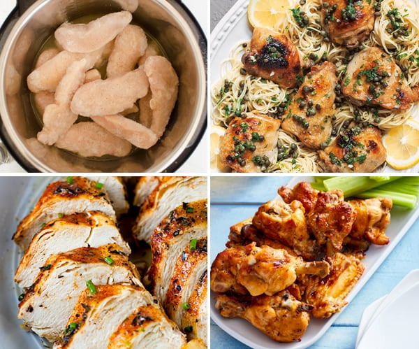 Instant Pot Frozen Chicken Recipes