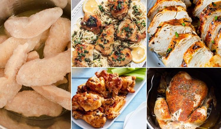 Instant Pot Frozen Chicken Recipes
