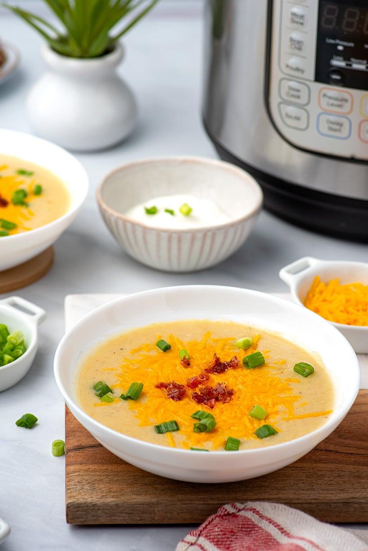 Instant Pot Creamy Potato Soup