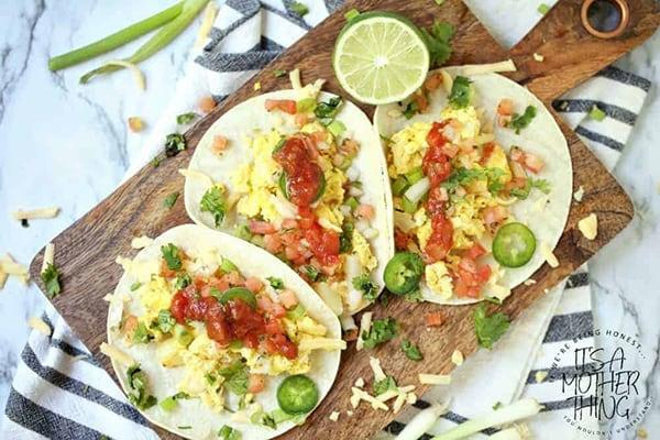 Instant Pot Breakfast Tacos
