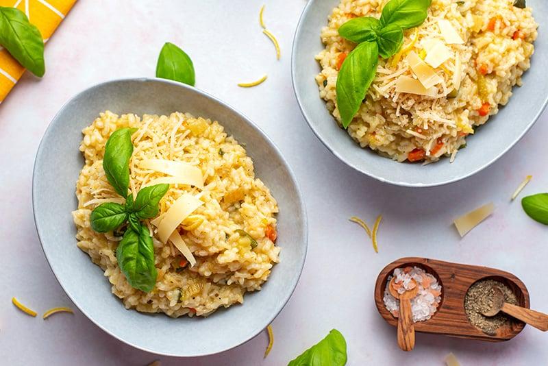 Pressure Cooker Risotto Vegetarian Recipe