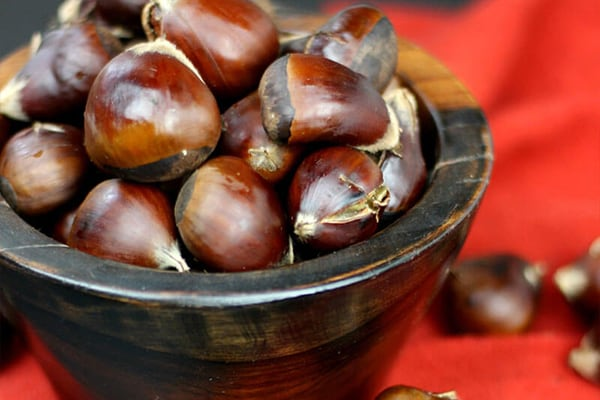 Easy-To-Peel Chestnuts