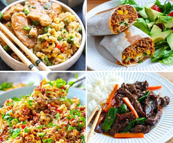 Instant Pot Rice Dishes From Around The World