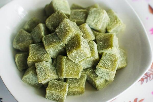 Instant Pot Matcha Mochi Recipe