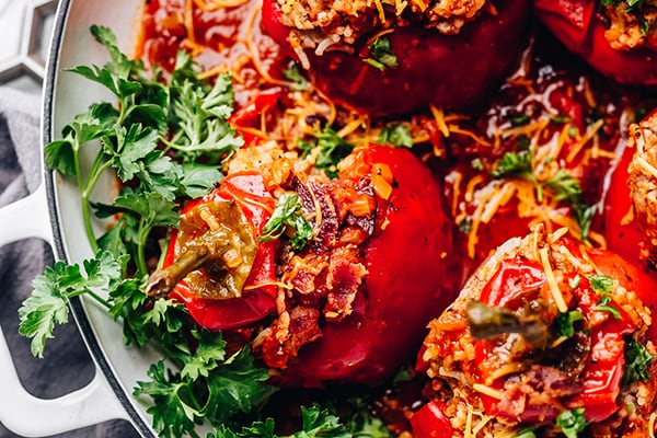 tuffed Bell Peppers Instant Pot