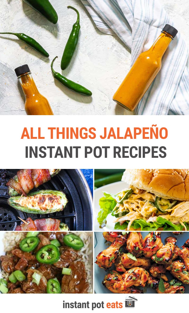 All Things Jalapeño for Instant Pot