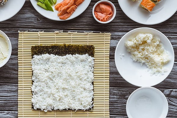 INSTANT POT SUSHI RICE HOW-TO