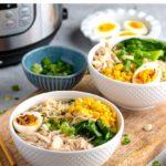 Instant Pot Chicken Miso Ramen Noodles
