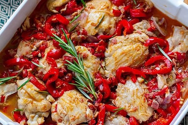 Instant Pot Chicken Scarpariello