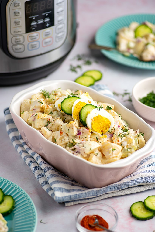 Egg & Potato Salad In The Instant Pot
