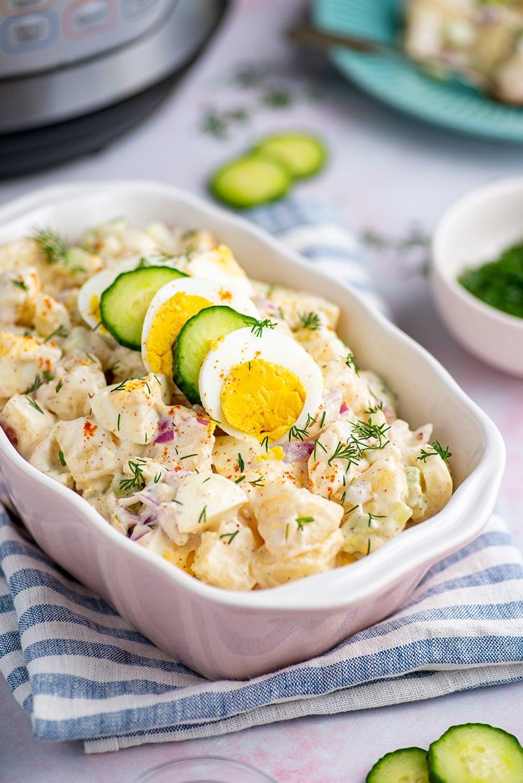 Instant Pot potato and egg salad