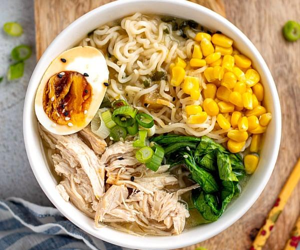 Instant Pot Ramen Noodles With Chicken & Miso